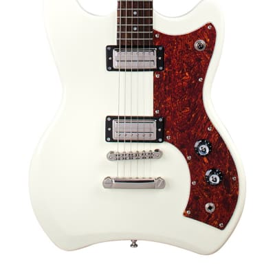 Guild Jetstar Electric Guitar with Gig Bag - Antique White