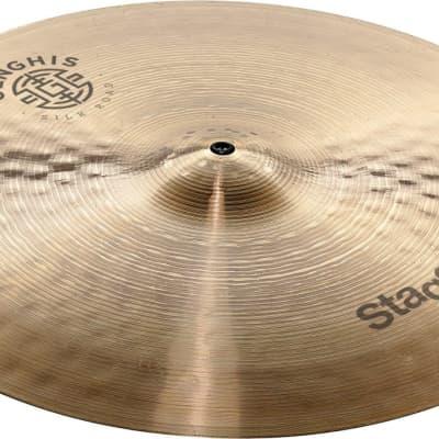 "Stagg 17"" Genghis Medium Crash Cymbal - GENG-CM17R"