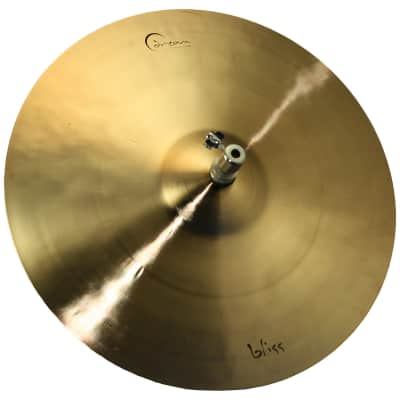 "Dream Cymbals BHH Bliss Series Hi Hat Cymbal Pair Natural - 15"" image"