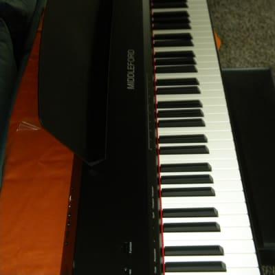 Middleford Digital 88 key hammer action piano Ebony & arranger
