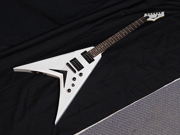 dean dave mustaine vmnt x electric guitar metallic silver reverb. Black Bedroom Furniture Sets. Home Design Ideas