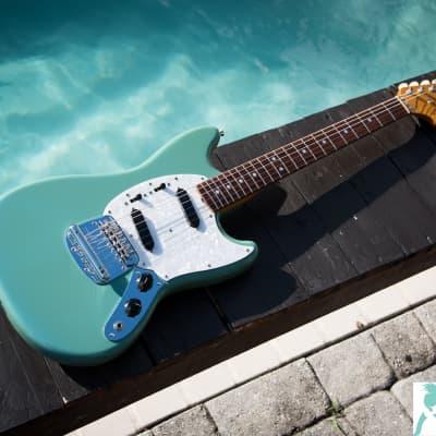 2006 Fender MG65 VSP CBL (California Blue) - 1965 Mustang Reissue - NITRO Finish - MG-65 -