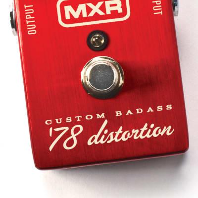 MXR M78 Custom Badass '78 Distortion Guitar Effects Pedal for sale