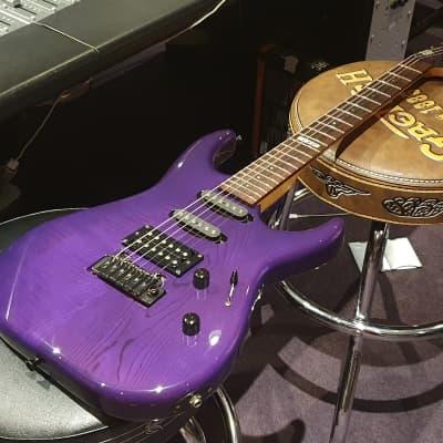 ESP Custom Shop The Mirage Trans Purple Japanese Super Strat! MIJ Japan Guitar!