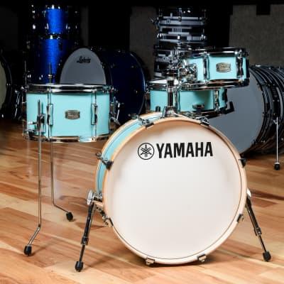 Yamaha Stage Custom Hip 10/13/20/5x13 4pc. Drum Kit Matte Surf Green
