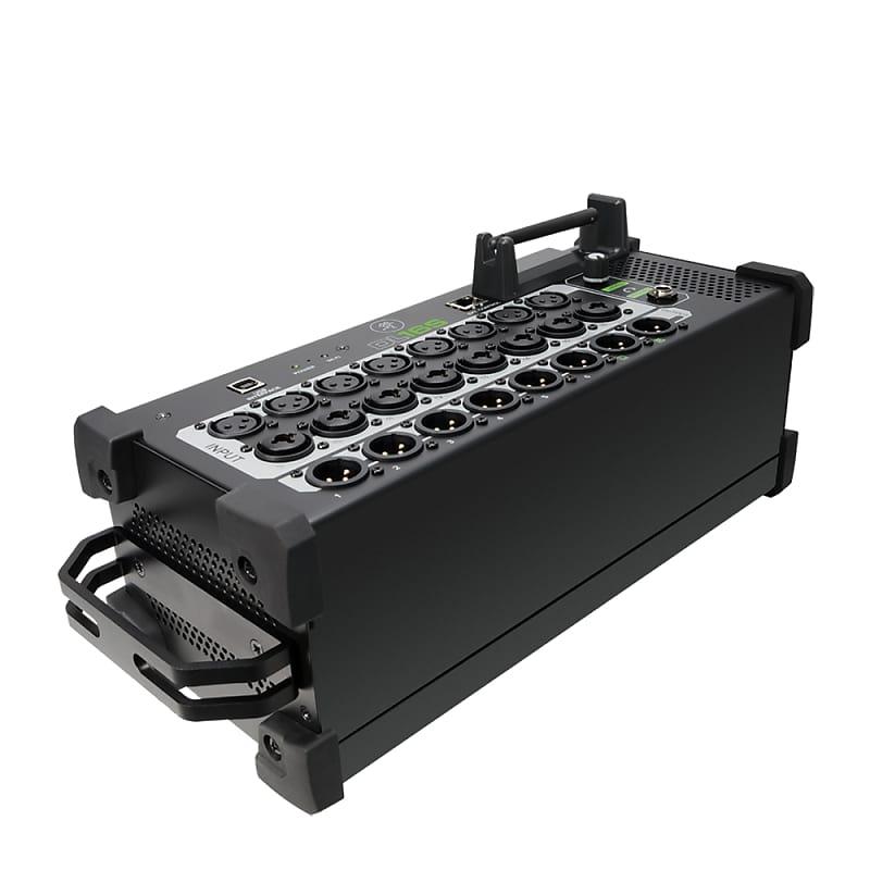 mackie dl16s digital stagebox mixer tablet mac pc control reverb. Black Bedroom Furniture Sets. Home Design Ideas