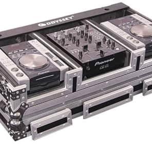 "Odyssey FZ10CDiW Flight Zone ATA DJ CD Player/10"" Mixer Coffin Case"