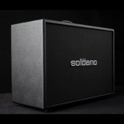 Soldano Soldano Horizontal 2×12 Cabinet  Black for sale