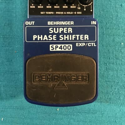 Behringer SP400 Ultimate Phase Shifter Effects Pedal