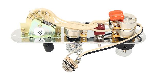 Fender Nashville Tele Telecaster 7-way Control Plate w//Concentic Tone BK//CH