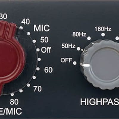 New Golden Age Project PRE-73 Deluxe Premier 1-Channel Vintage (1073)-style Microphone Preamp