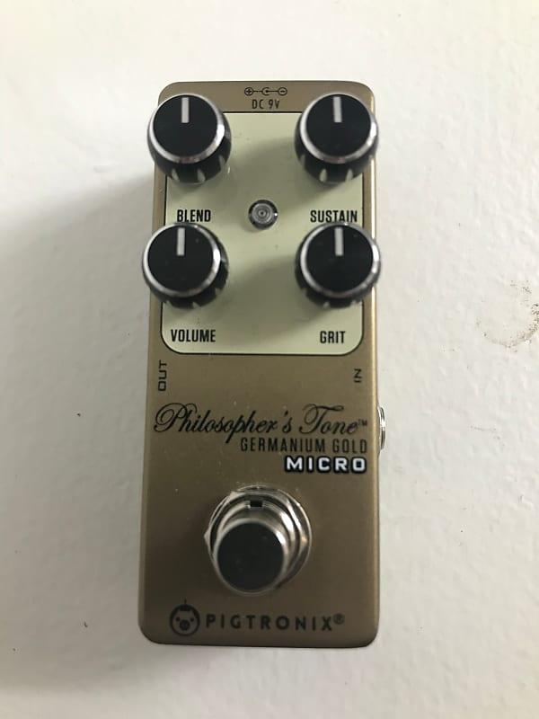 NEW Pigtronix Philosopher/'s Tone Germanium Gold Micro Compressor Pedal
