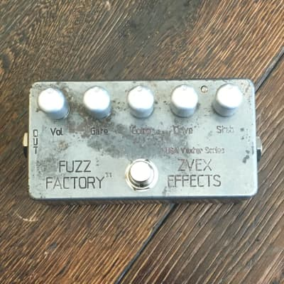 Used Zvex USA Vexter Fuzz Factory Distressed Guitar Effect Pedal