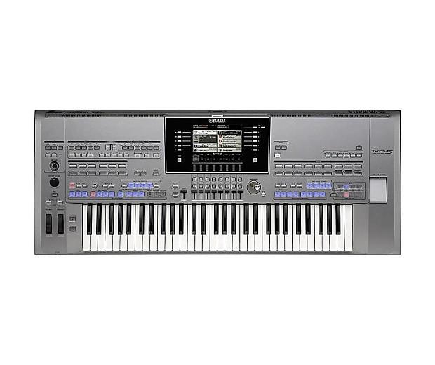 Yamaha tyros5 61 tyros 5 arranger keyboard demo w gold for Yamaha expansion pack
