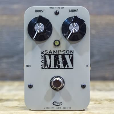 J. Rockett Audio Designs MAX Mark Sampson Buffer / Booster Effect Pedal w/Box for sale