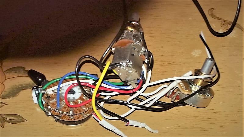 Charvel Pro Mod San Dimas Wire Harness 3 Way Switch Push