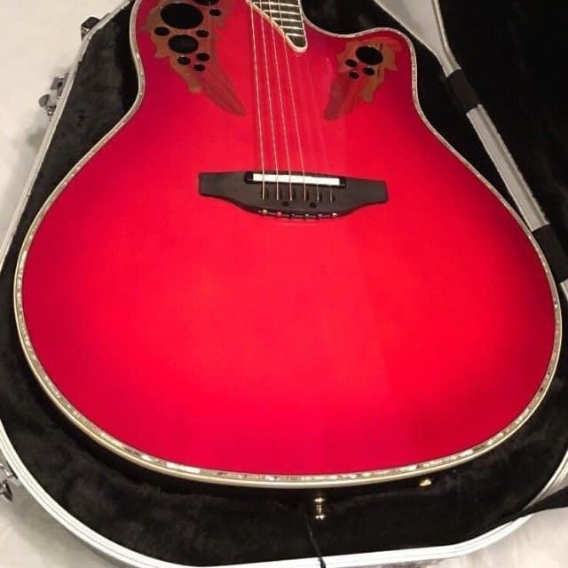 Ovation C2078AX  RTD Custom Elite Deep Contour Acoustic-Electric Guitar image