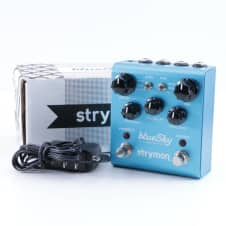 Strymon Blue Sky Reverb Guitar Effects Pedal & Power Supply P-05466