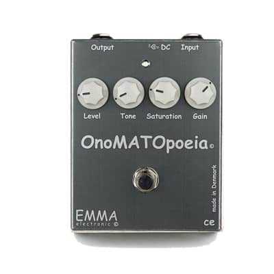 Emma Electronic OnoMATOpoeia Clean Boost & Low Gain Pedal
