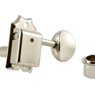 Gotoh SD91-05M 6-In-Line Vintage Style Tuners Keys for Fender Strat Tele NICKEL