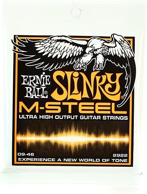 ernie ball 2922 hybrid slinky m steel electric guitar strings reverb. Black Bedroom Furniture Sets. Home Design Ideas