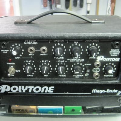 Polytone Mega-Brute 75 watt Mini Amp Head for sale