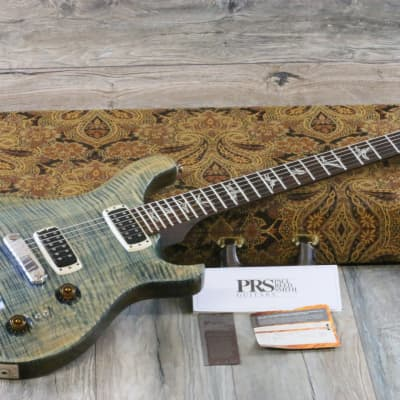 MINTY! 2013 PRS Paul's Guitar Limited Edition Faded Blue Jean Brazilian Rosewood + OHSC & Papers for sale