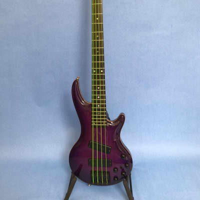 Curbow International Exotic Petite (IEP) 1998 Purple (translucent) w/ colored Rockwood neck for sale