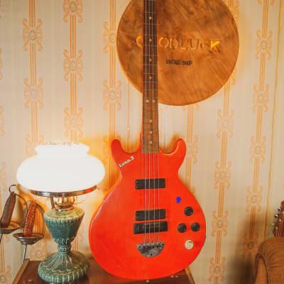 Defil Luna 2 Rare Vintage Bass Guitar Poland for sale