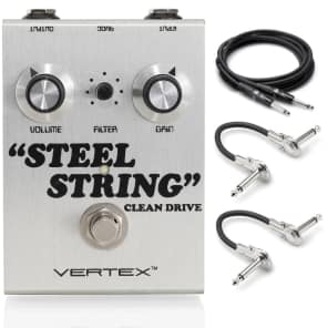 Vertex Steel String Clean Drive w/ Hosa Cables!