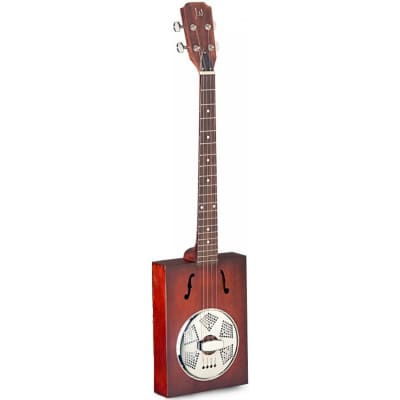 James Neligan Puncheon Acoustic Resonator Cigar Box 4-string cigar box guitar for sale