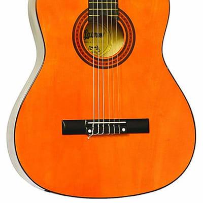 Lauren LA100C 39-Inch Full-Size Nylon 6-String Classical Acoustic Guitar for sale