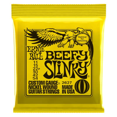 Ernie Ball 2627 Beefy Slinky Electric String Set, 11-54