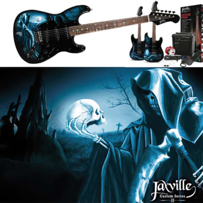 Jaxville ST1HDPK electric guitar kit for sale