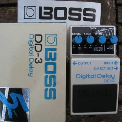 Boss DD-3 Digital Delay 1987 Long Chip Japan