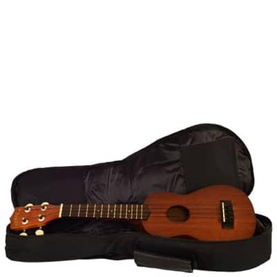 New Kala Standard Ukulele Gig Bag W/ Logo   Concert for sale