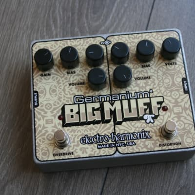 "EHX  ""Germanium Big Muff"""