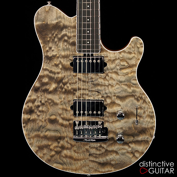 ernie ball music man axis super sport bfr trans black quilt reverb. Black Bedroom Furniture Sets. Home Design Ideas