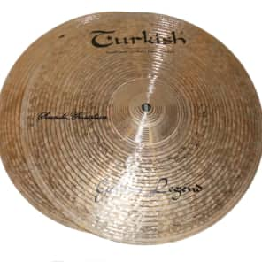 "Turkish Cymbals 13"" Custom Series Golden Legend Hi-Hat GL-H13 (Pair)"