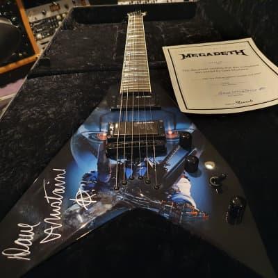 Dave Mustaine's Personally Owned #1 Megadeth Signed Tour Dean USA Custom Shop VMNT Flying King V kv1
