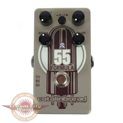 Catalinbread Formula No. 55 Tweed-Style Overdrive Pedal for sale
