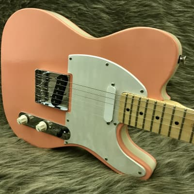 Schmidt Co. Guitars Candor  Shell Pink w/ White Pearl, Fralin Pickups - Ready to Ship! for sale