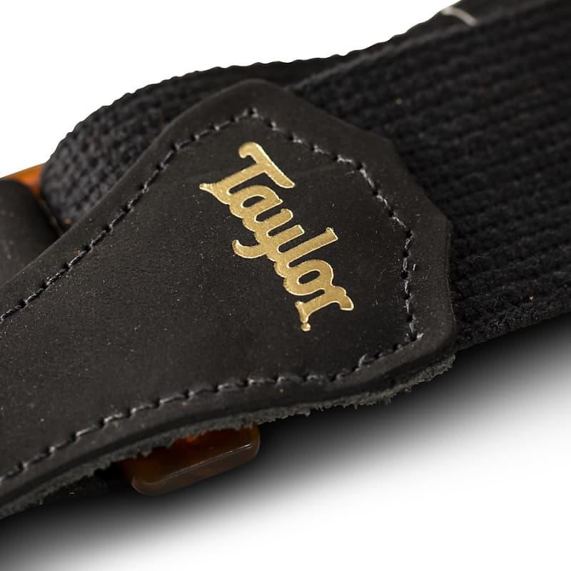 Taylor GS Mini Strap, Black Cotton, 2
