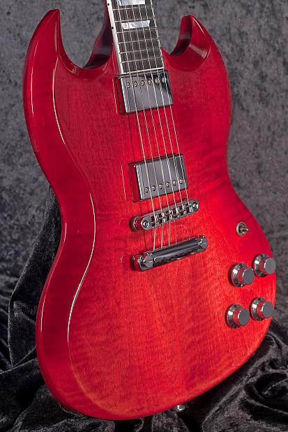 Gibson SG Standard HP-II 2018 Blood Orange Fade | Reverb