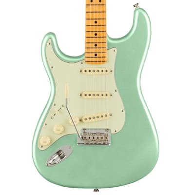 Fender American Professional II Stratocaster Left-Hand - Mystic Surf Green