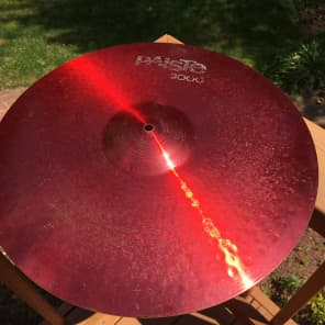 """Paiste 20"""" 2000 Color Sound Red Power Ride Cymbal"""