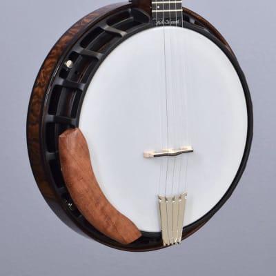 Nechville Midnight Phantom Resonator Banjo w/ Quilted Maple Resonator (#2908) for sale