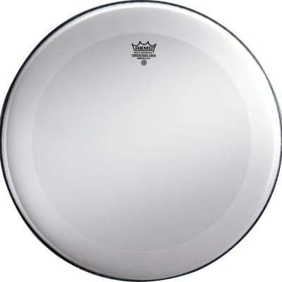 Remo Smooth White Powerstroke 3 22 Inch Drum Head w/ No Stripe
