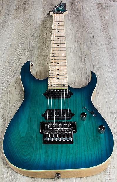 ibanez rg752ahmngb rg prestige 7 string dimarzio guitar reverb. Black Bedroom Furniture Sets. Home Design Ideas