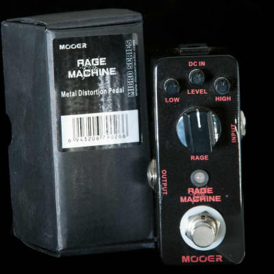 Mooer Rage Machine Mini Distortion Pedal for sale